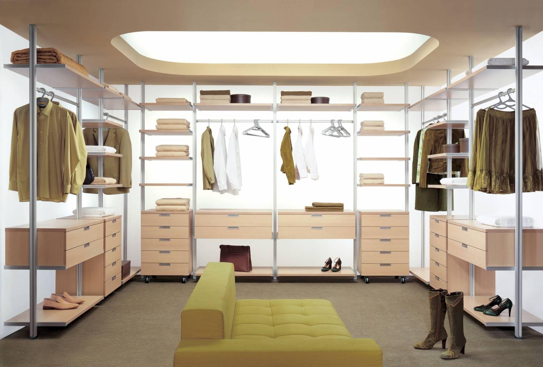 Дизайн интерьера гардеробной. фото и видео. место под гардер.